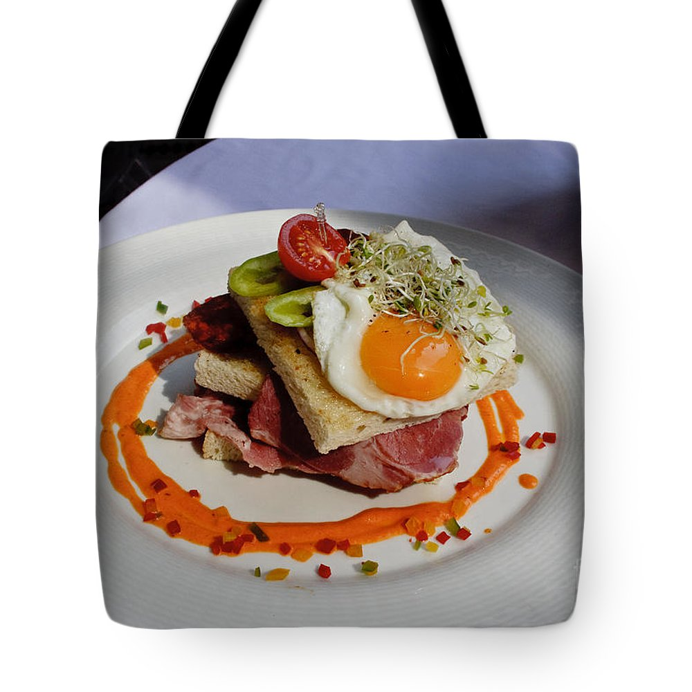 Sandwich Tote Bag featuring the photograph Sandwich by Thomas Marchessault