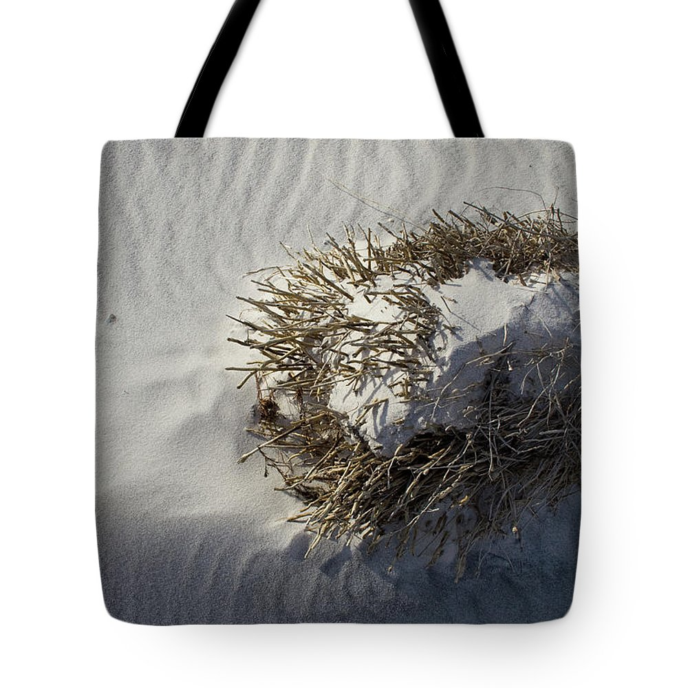 Sandy Ball Tote Bag featuring the photograph Sandy Ball by Dylan Punke