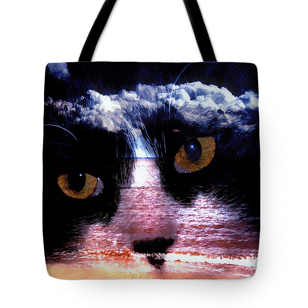 Clay Tote Bag featuring the photograph Sandy Paws by Clayton Bruster
