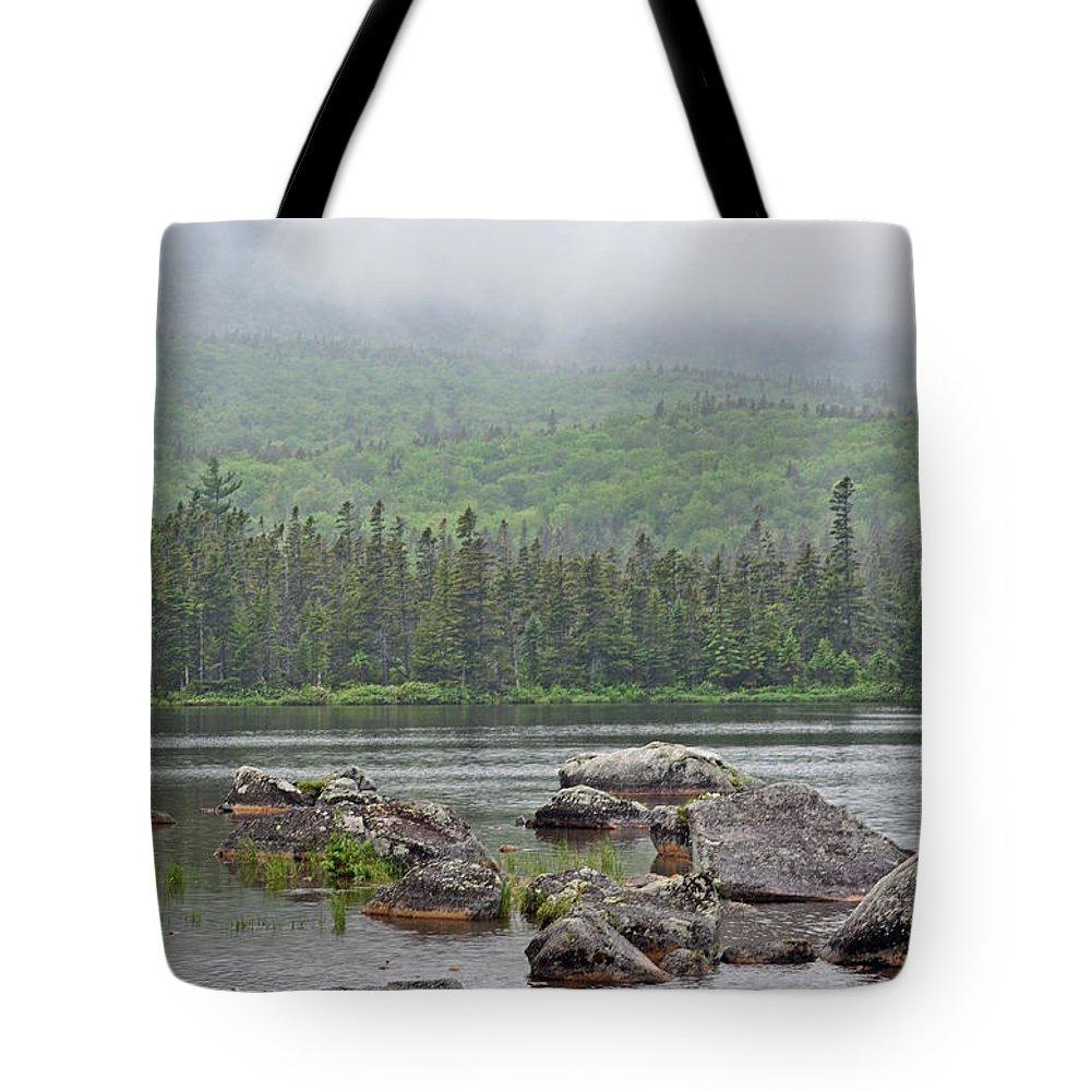 Sandy Stream Pond Tote Bag featuring the photograph Sandy Stream Pond by Glenn Gordon