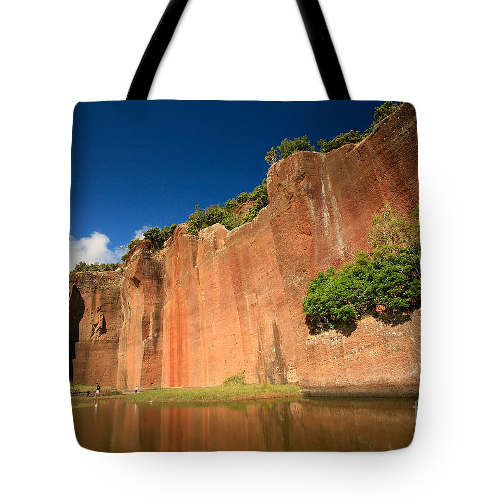 Walls Tote Bag featuring the photograph Santa Maria Azores by Gaspar Avila