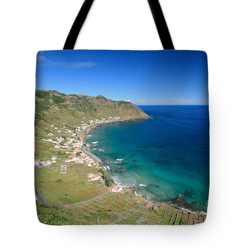 Azores Tote Bag featuring the photograph Santa Maria Azores II by Gaspar Avila
