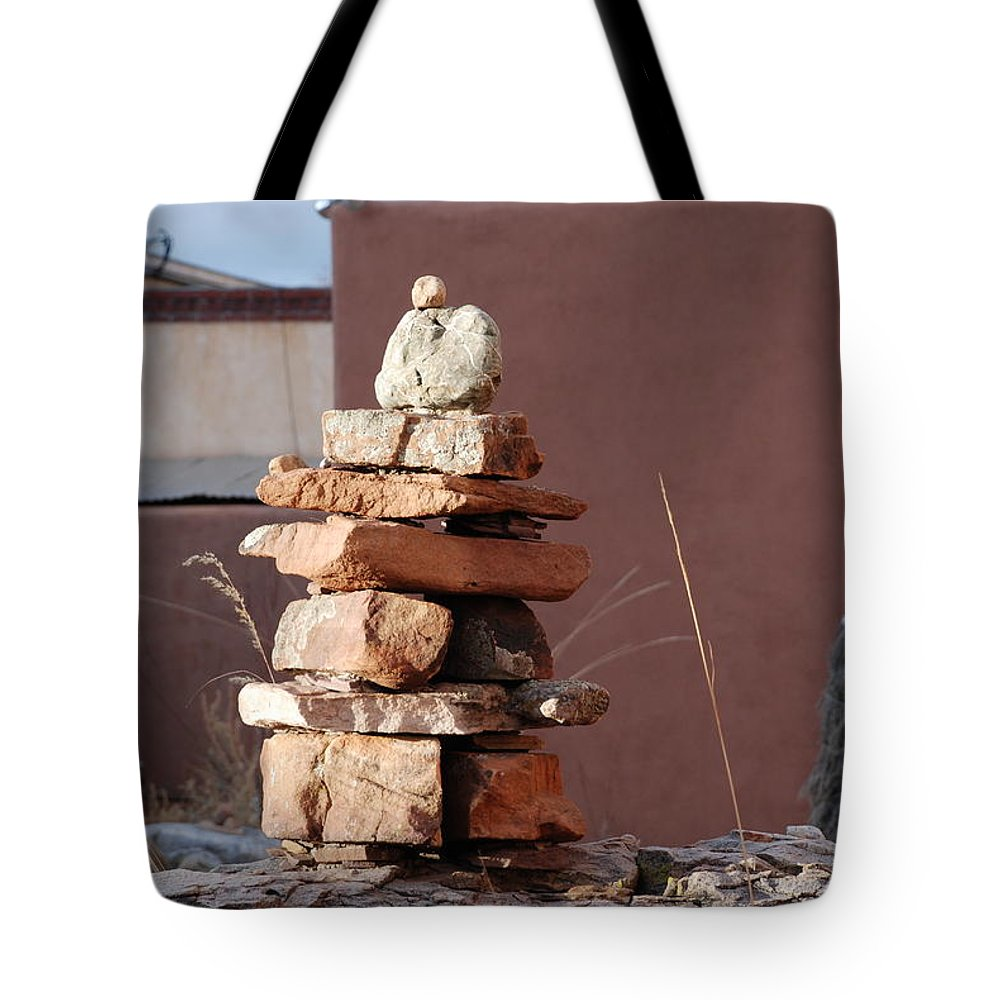Pop Art Tote Bag featuring the photograph Sante Fe Rocks by Rob Hans