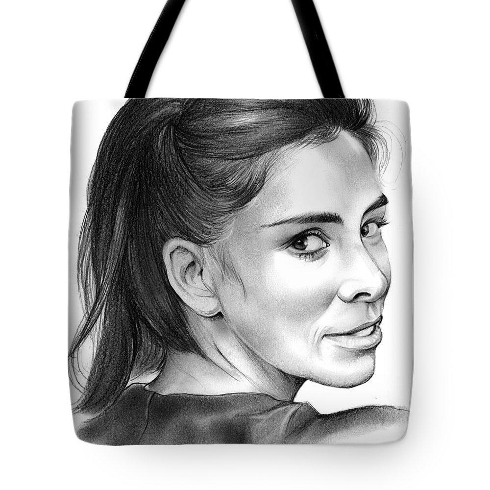 Entertainment Drawings Tote Bags