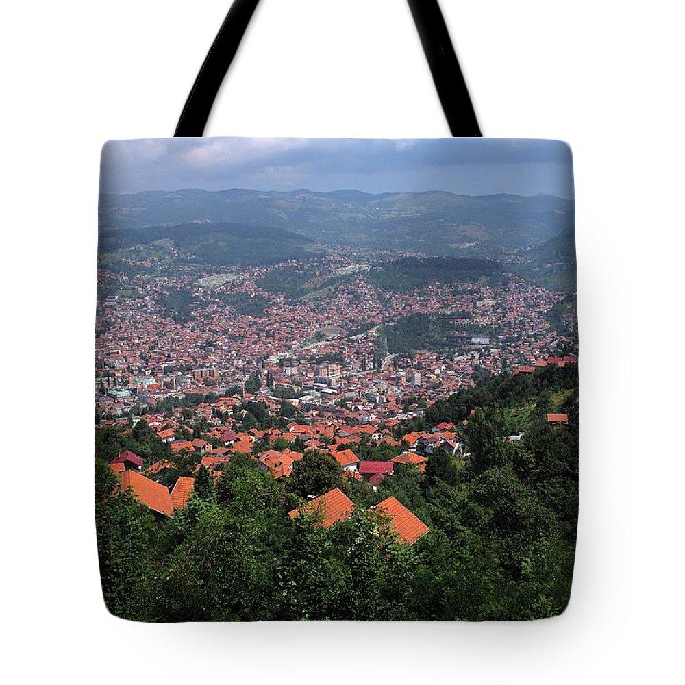 Beautiful Tote Bag featuring the photograph Sarajevo  by Piotr Kuzniar