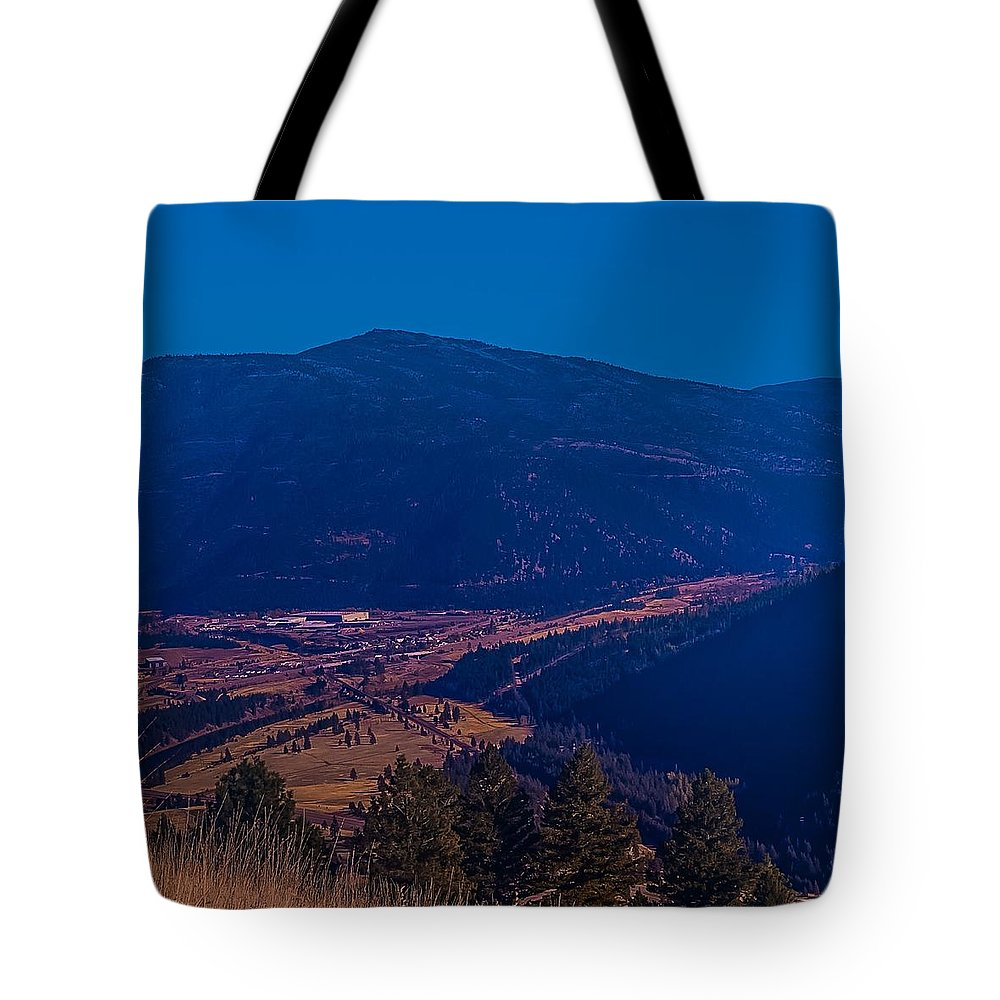 Tote Bag featuring the photograph Satirical Scene by Dan Hassett
