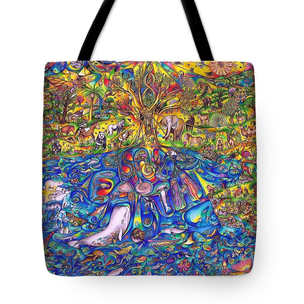 74ba0a1195c7 Save Earth Tote Bag