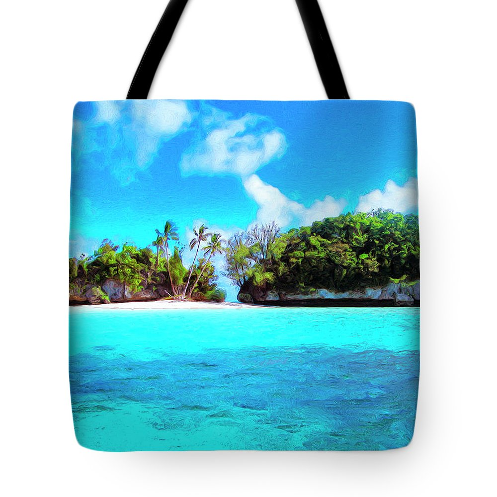 Saved Tote Bag featuring the painting Saved by Dominic Piperata