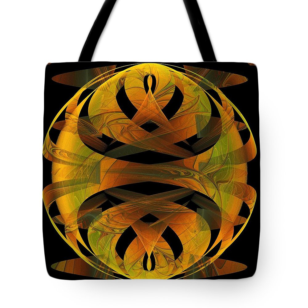 Digital Art Tote Bag featuring the digital art Scarab by Amanda Moore