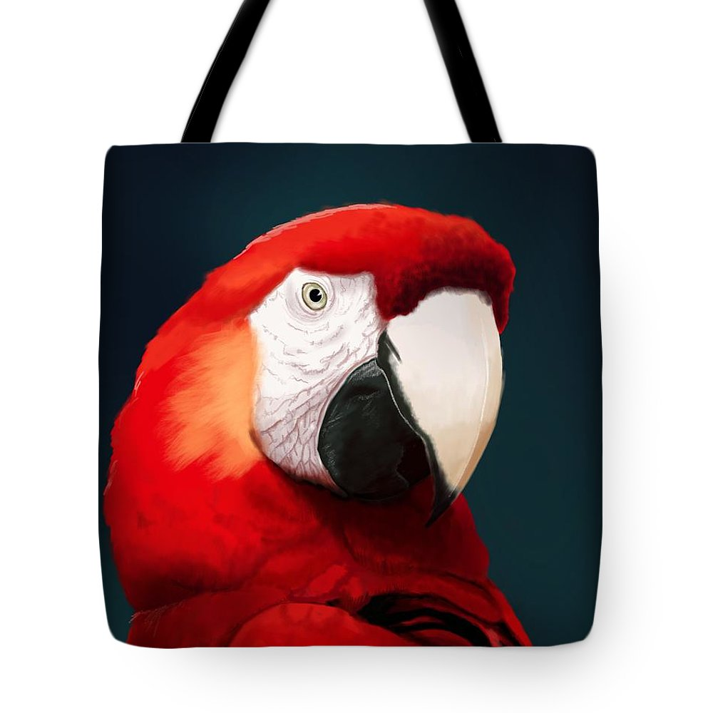 Parrot Tote Bags