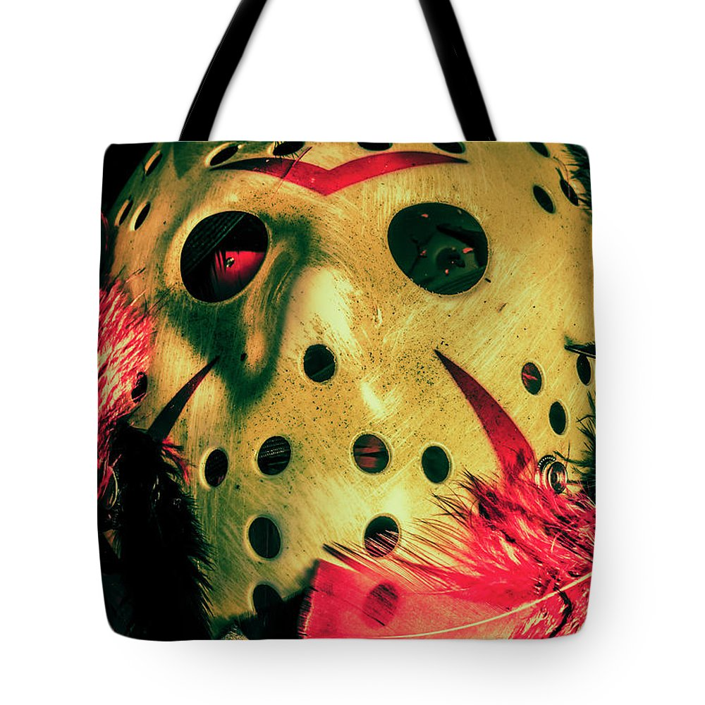 Scene From A Fright Night Slasher Flick Tote Bag for Sale by Jorgo ...