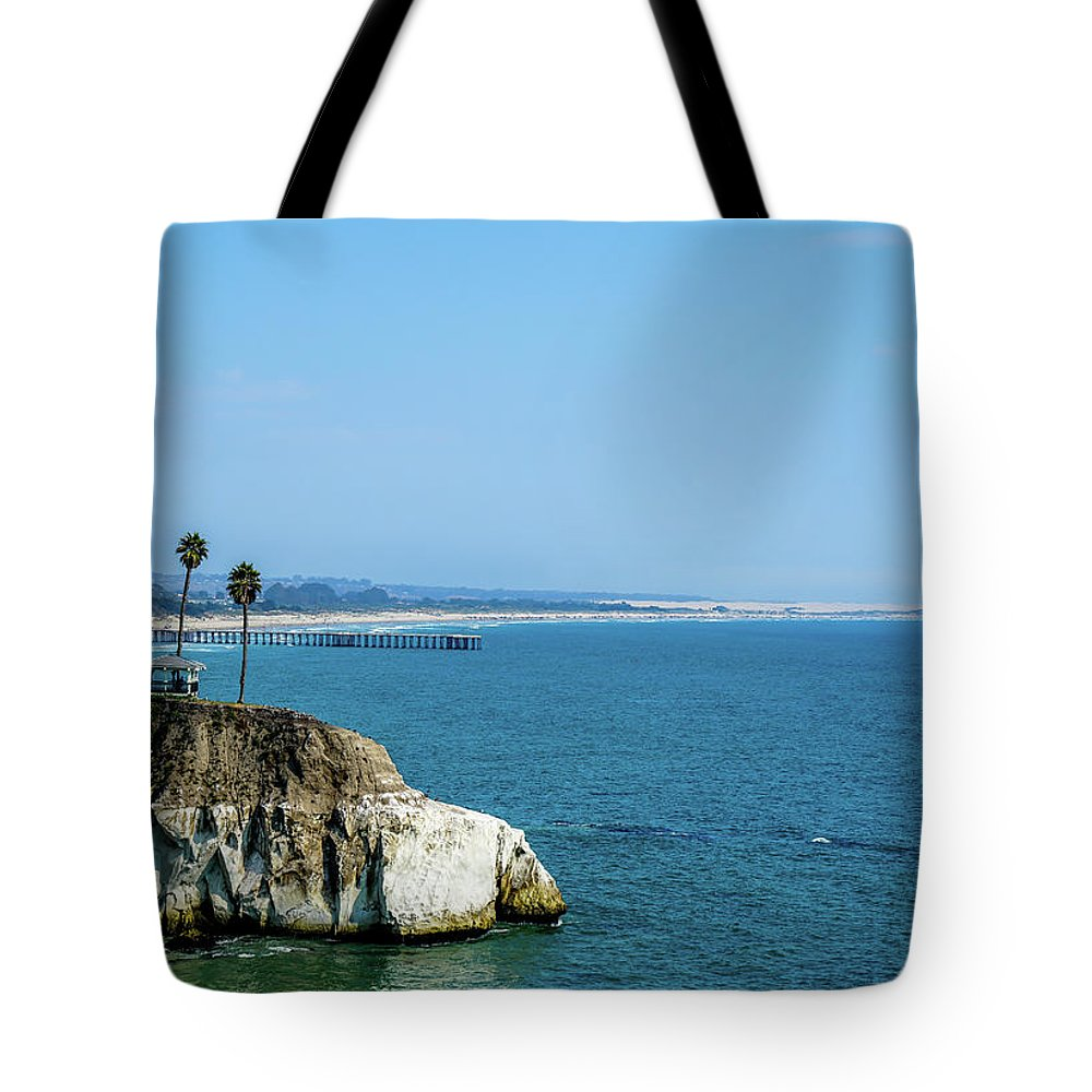 Scenic Tote Bag featuring the photograph Scenic Outcropping by Ric Schafer