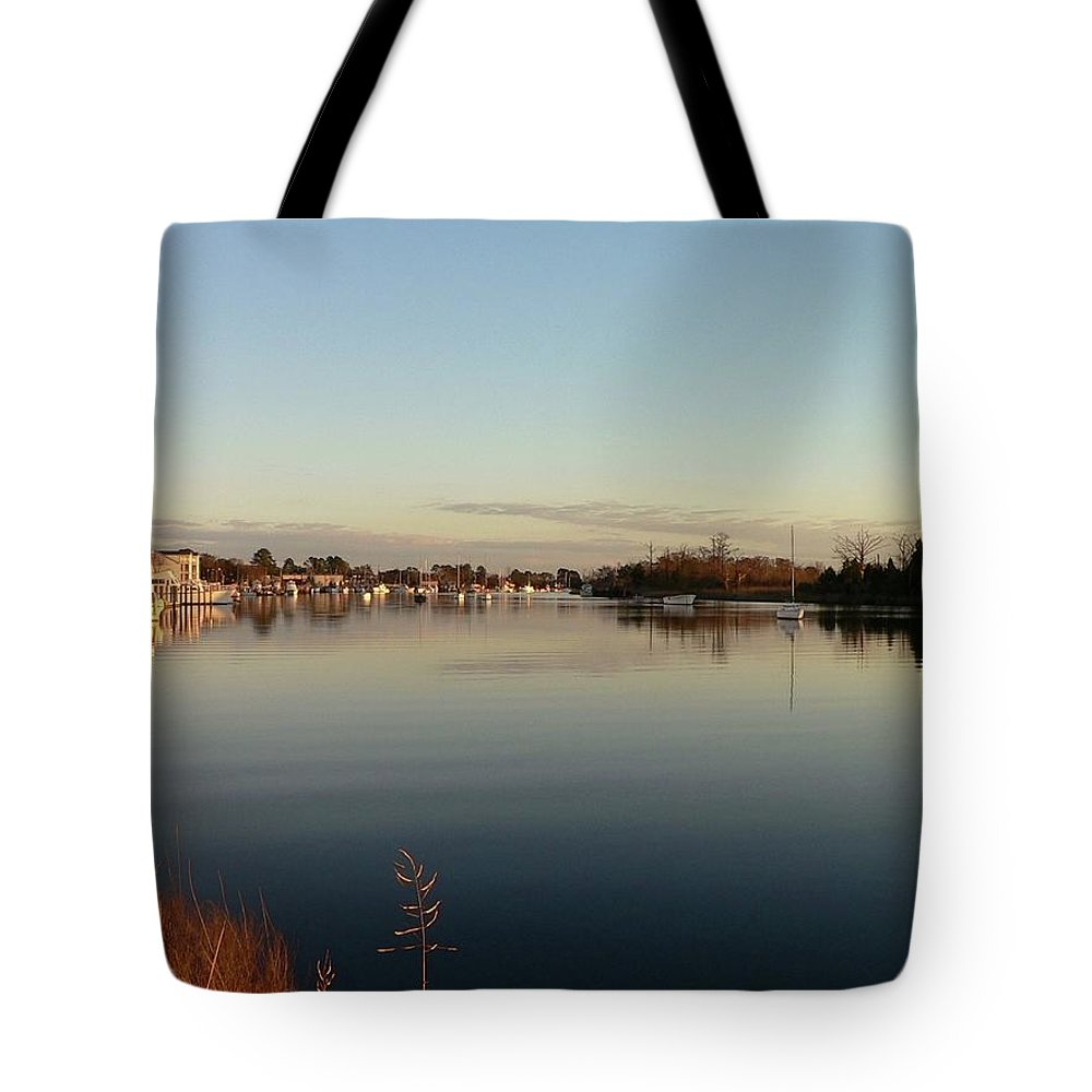 Scenic Tote Bag featuring the photograph Scenic River 02 by Al Powell Photography USA