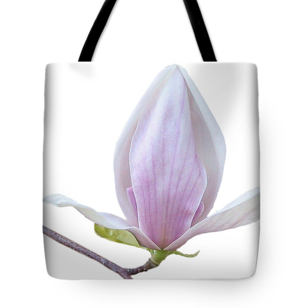 White Tote Bag featuring the photograph Scent Of A Magnolia by Christine Till