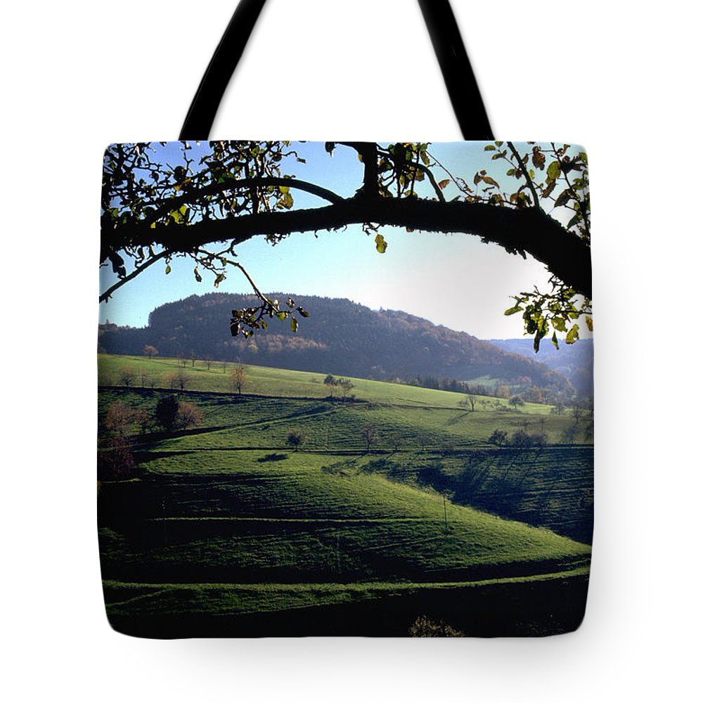 Schwarzwald Tote Bag featuring the photograph Schwarzwald by Flavia Westerwelle