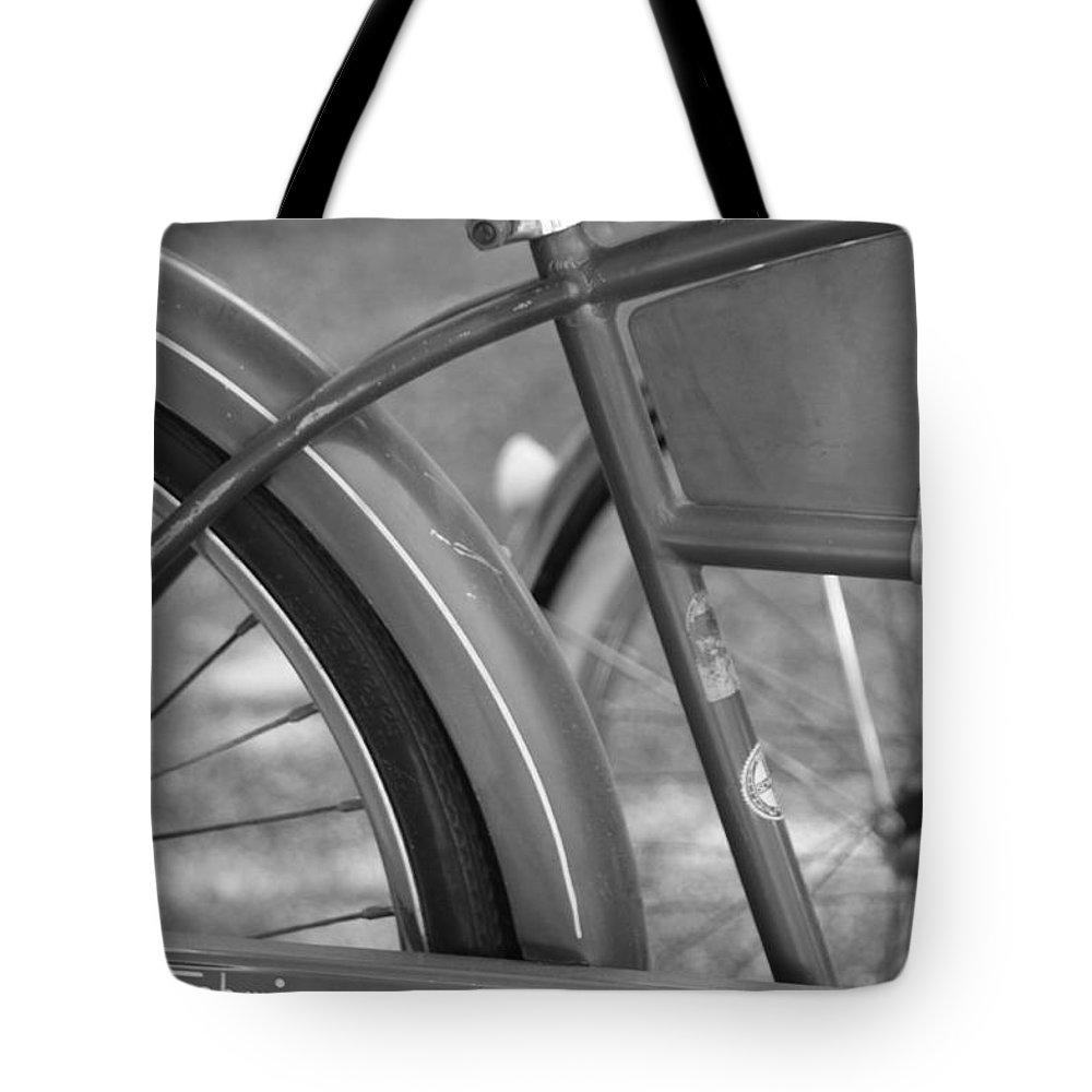 Schwinn Tote Bag featuring the photograph Schwinn Cycle Truck by Lauri Novak