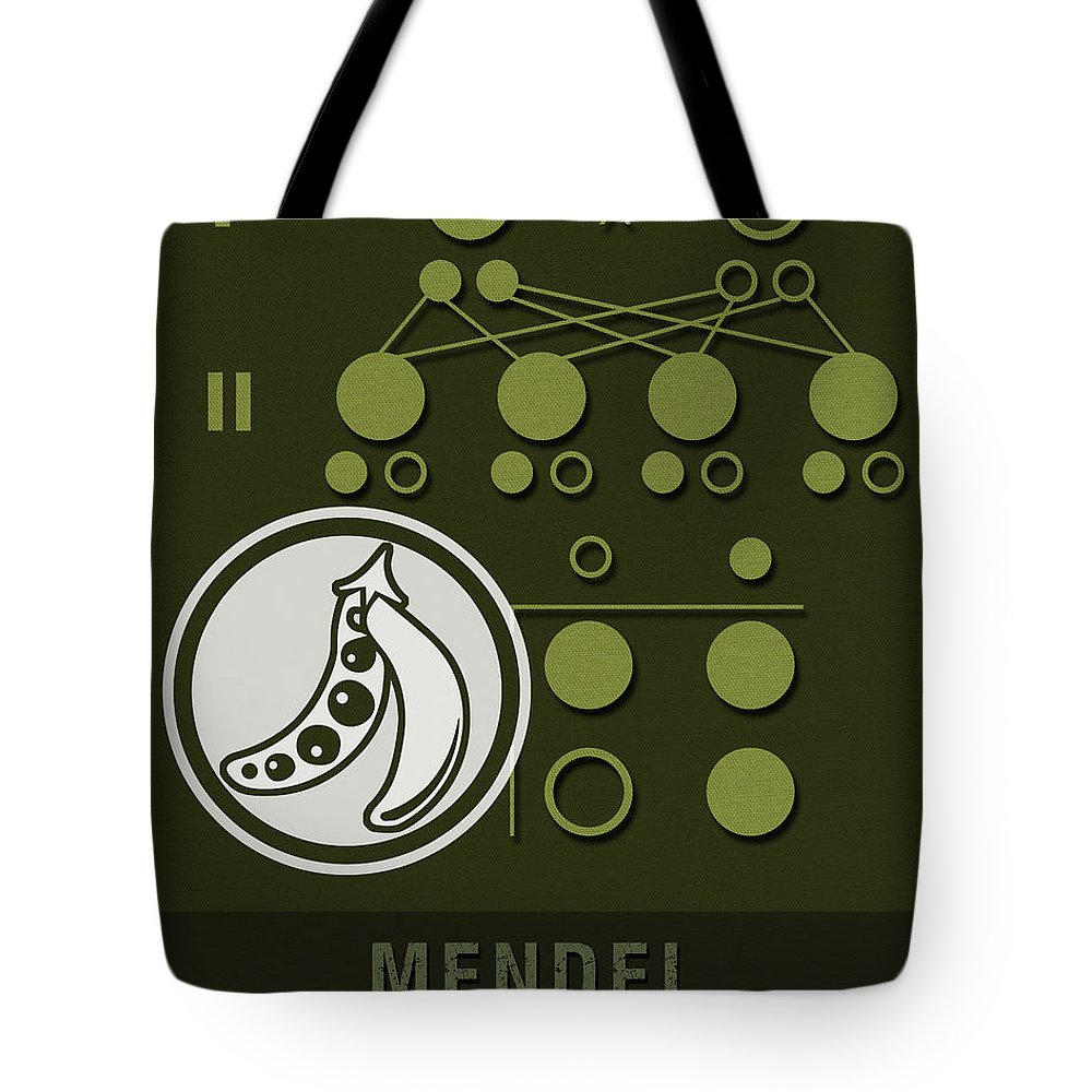 Biologist Mixed Media Tote Bags