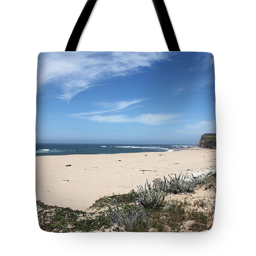 Beaches Tote Bag featuring the photograph Scott Creek Beach Hwy 1 by Amanda Barcon