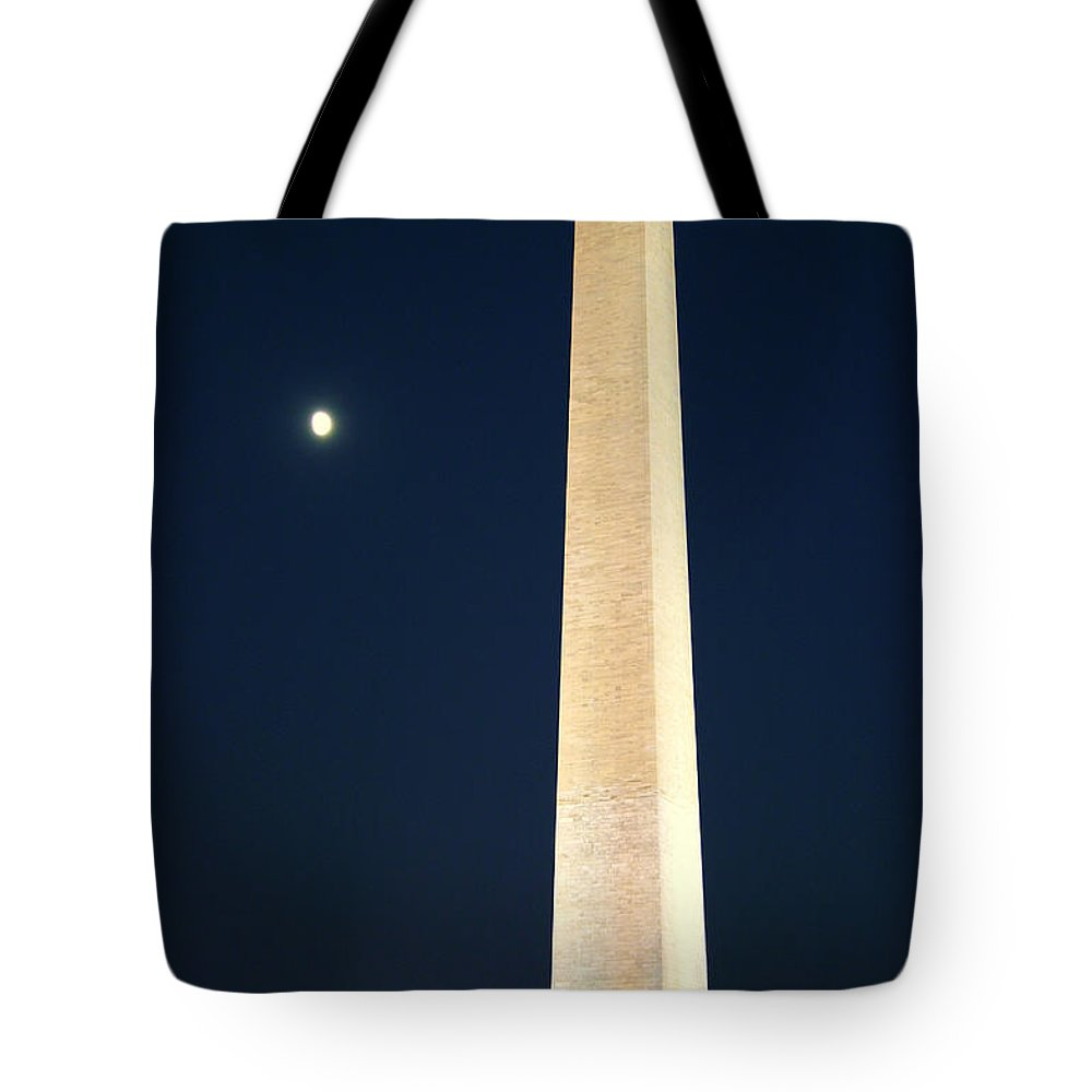 Moon Tote Bag featuring the photograph Sculpture by Mitch Cat
