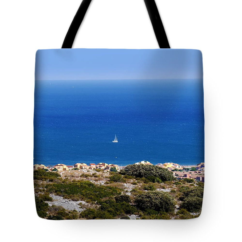 #landscape #photo #nature Photography #sea Tote Bag featuring the photograph Sea by Bernd Hau