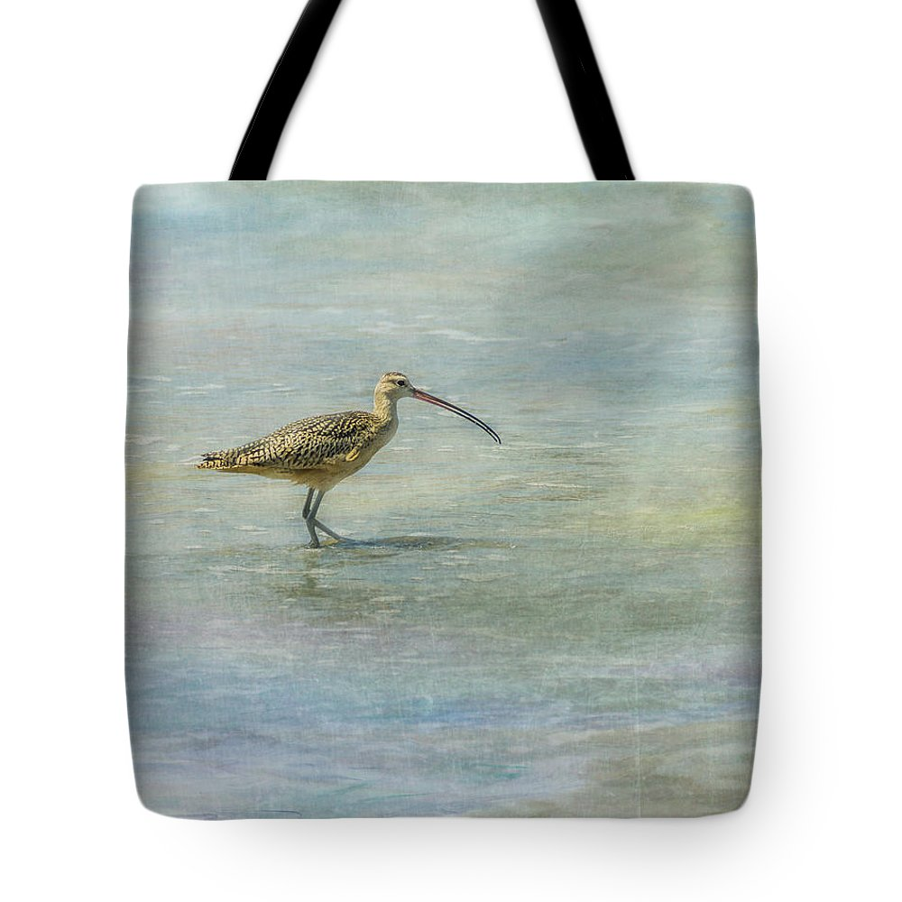 Sea Tote Bag featuring the photograph Sea Bird by Joan Baker