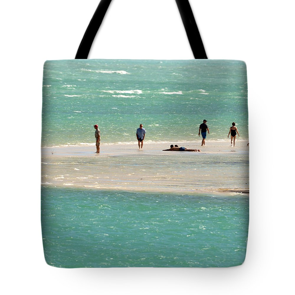 Key West Florida Tote Bag featuring the photograph Sea Life Salt Life Key West Style by Davids Digits