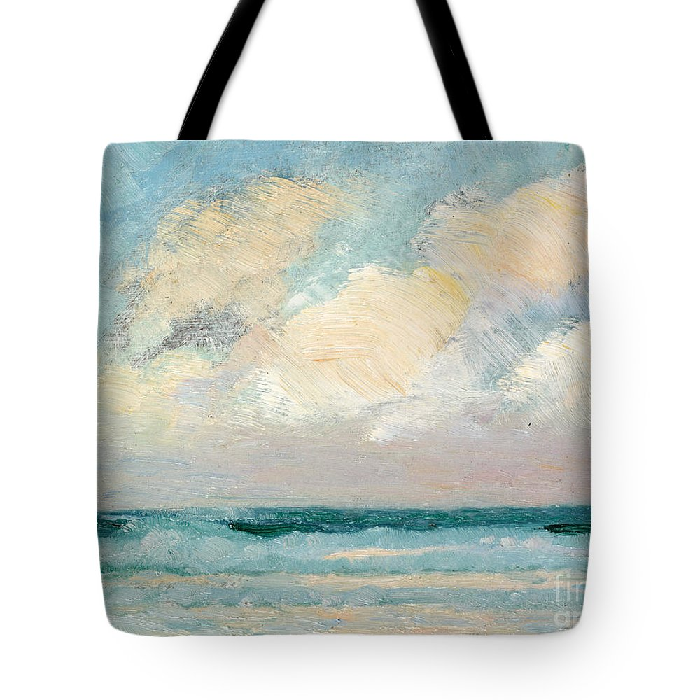 Cloudy Sky Tote Bags