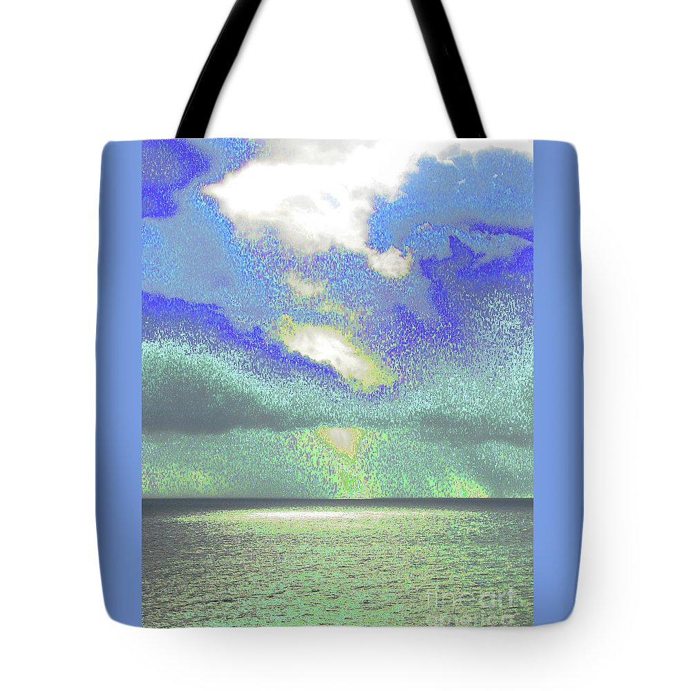 Ocean Tote Bag featuring the photograph Seascape 1002 by Corinne Carroll