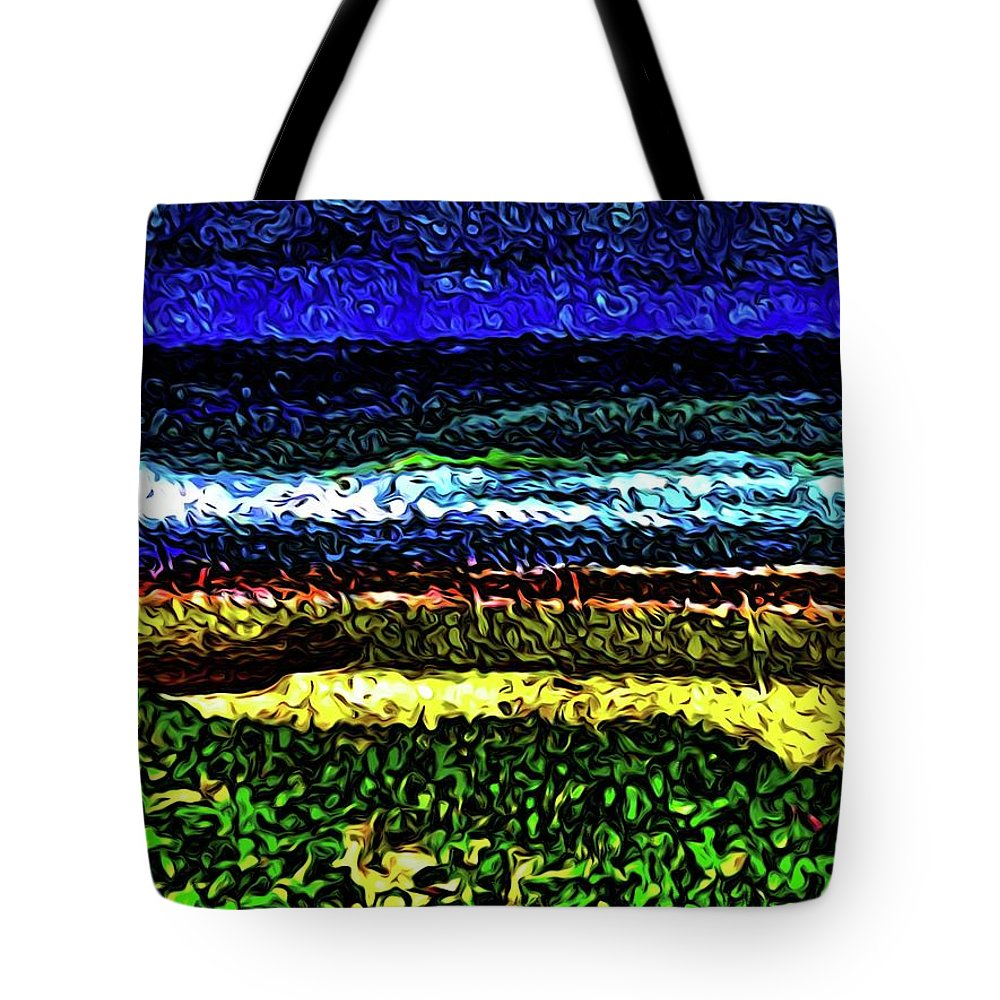 Seascape Tote Bag featuring the photograph Seascape 99 by Kristalin Davis