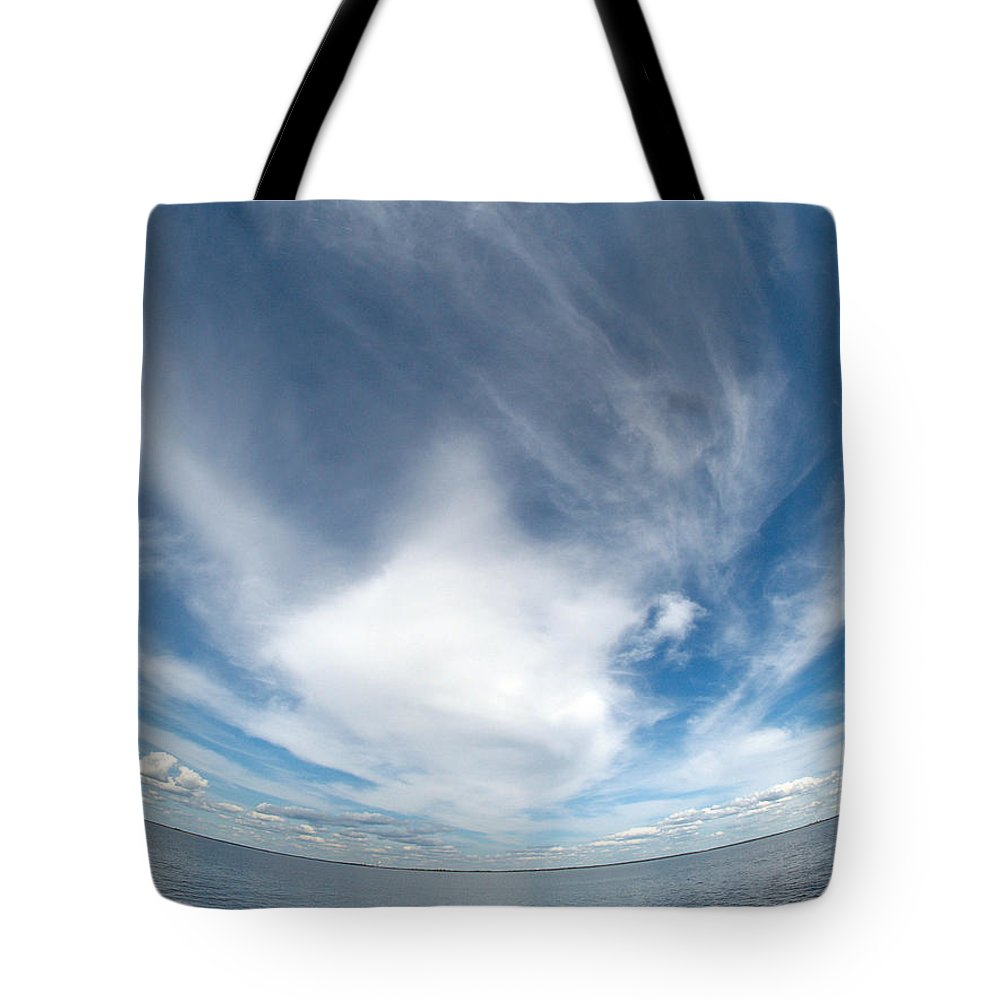 Gulf Of Bothnia Tote Bag featuring the photograph Seascape by Jouko Lehto