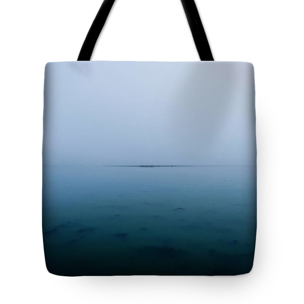 Seascape Tote Bag featuring the photograph Seascape by Grebo Gray