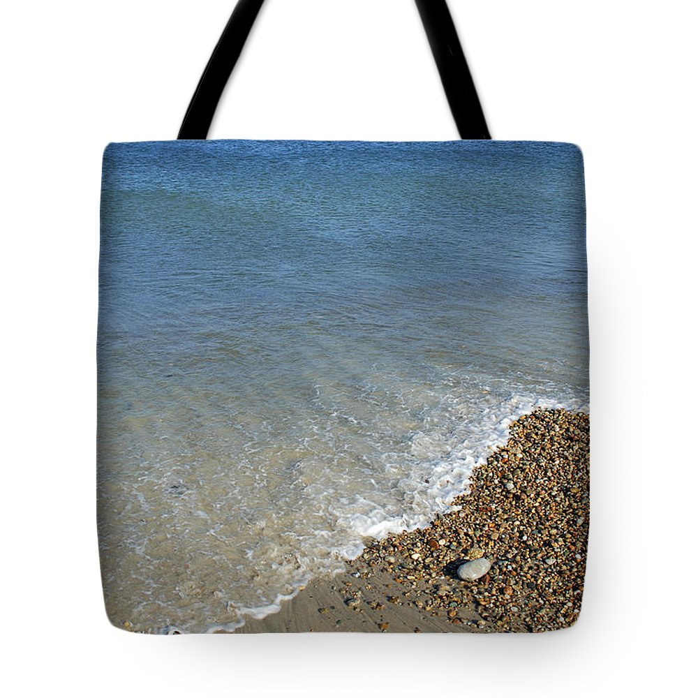 Sea Tote Bag featuring the photograph Seashore by Charles Harden