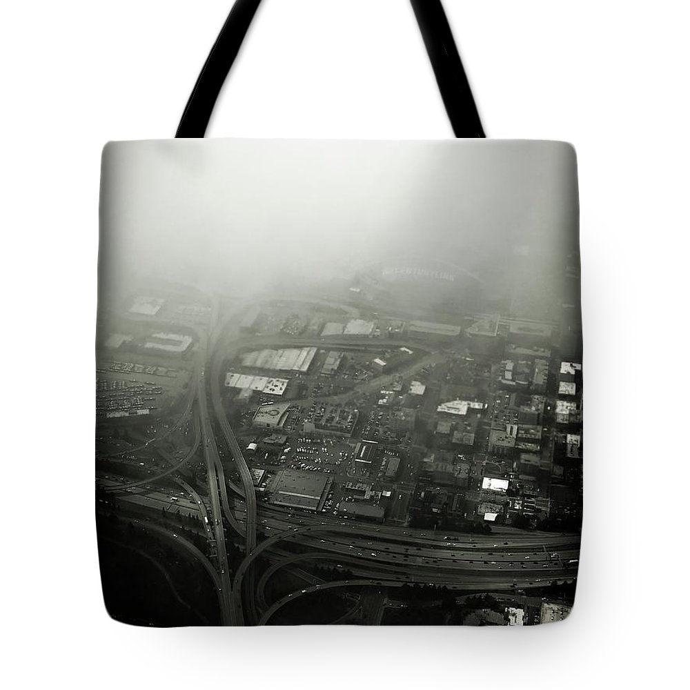 Tote Bag featuring the photograph Seatle by James Rosales