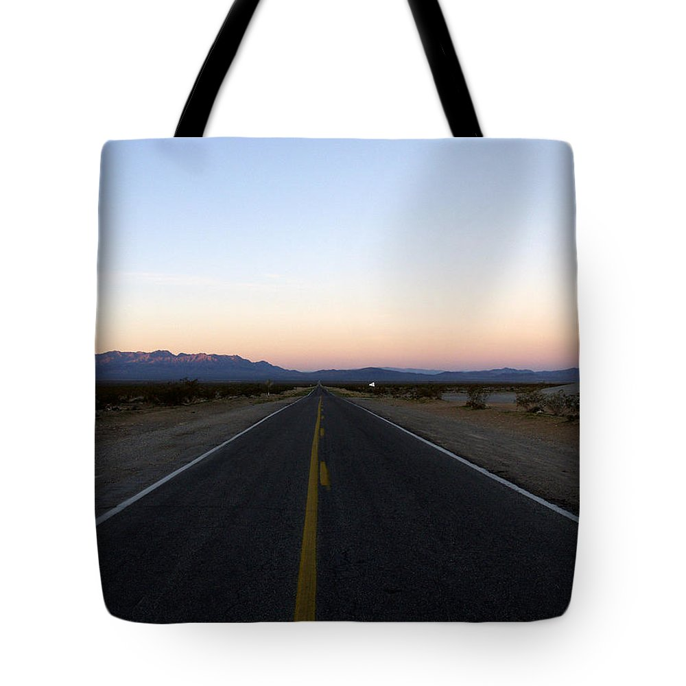 Road Tote Bag featuring the photograph Secluded Sunrise by Kelvin Booker