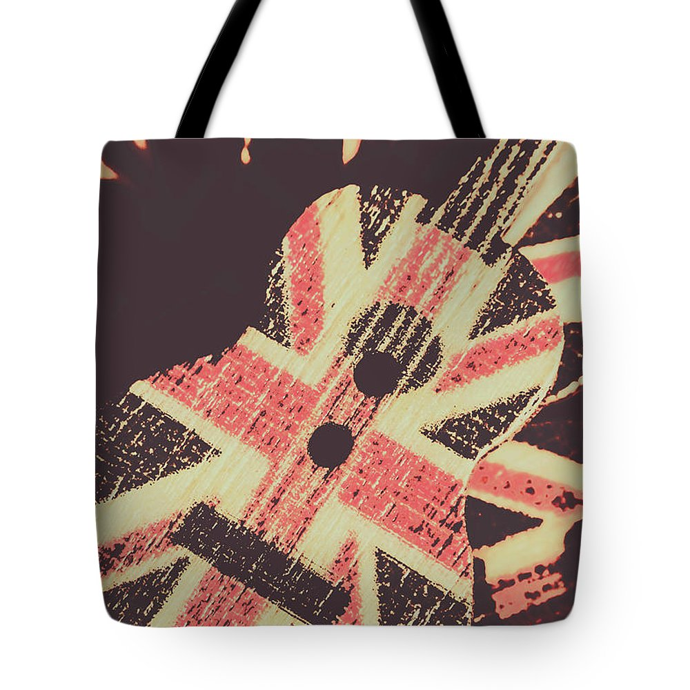 Britpop Tote Bag featuring the photograph Second British Invasion by Jorgo Photography - Wall Art Gallery