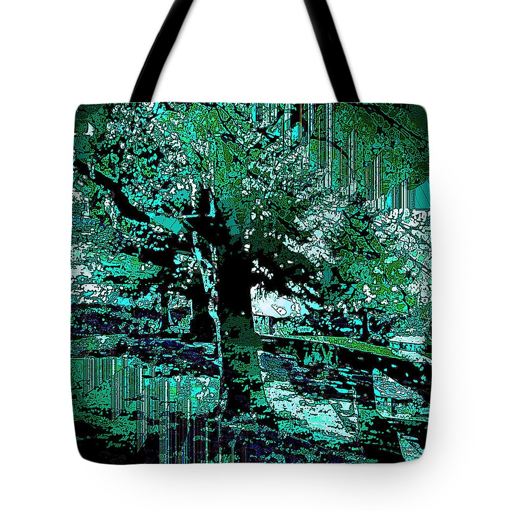 Trees Tote Bag featuring the photograph Secret Garden by Warren Kasow