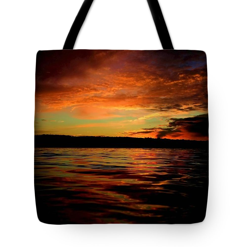 Sunrise Tote Bag featuring the photograph Secrets by Mitch Cat