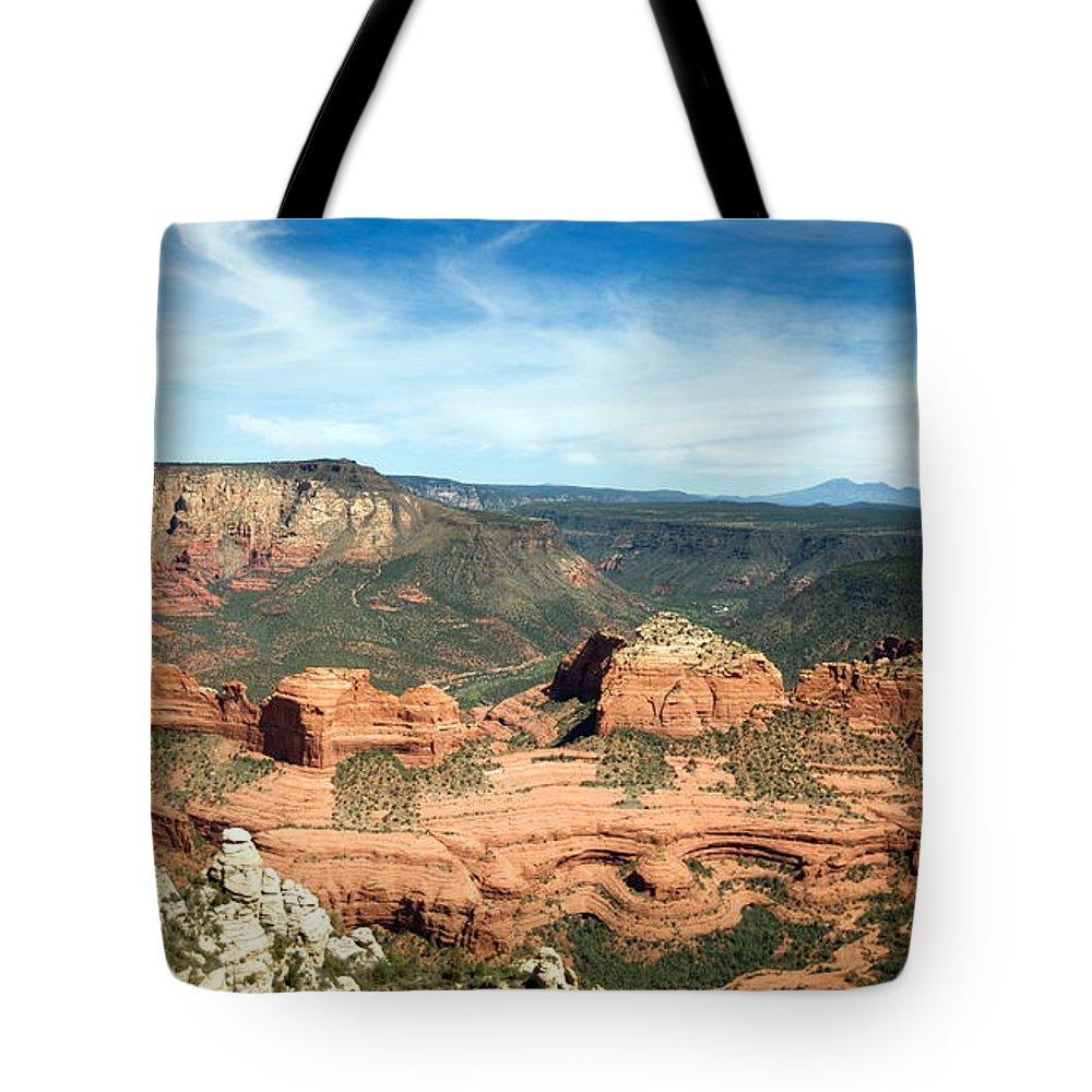 Sedona Tote Bag featuring the photograph Sedona, Arizona by American School