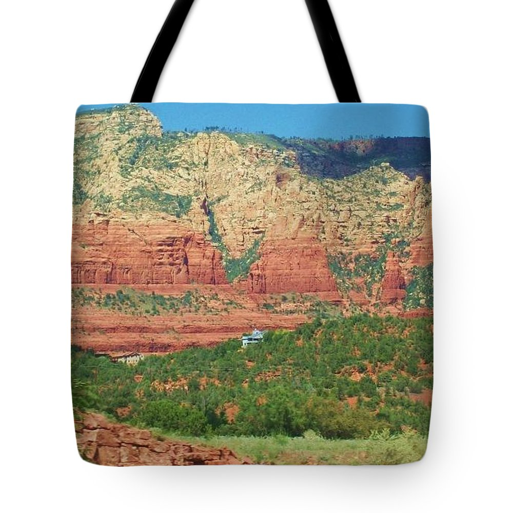 Tote Bag featuring the photograph Sedona Beauty 6 by Kathleen Heese