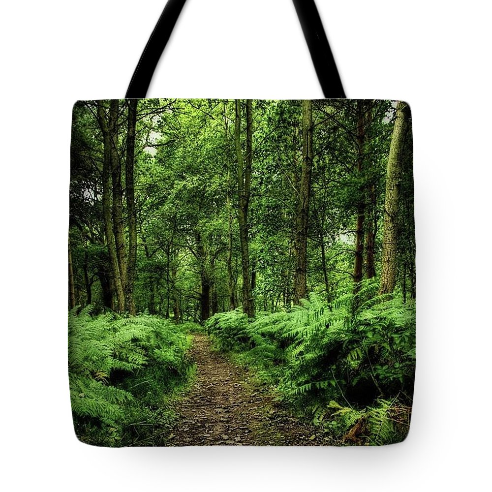 Nature Tote Bag featuring the photograph Seeswood, Nuneaton by John Edwards