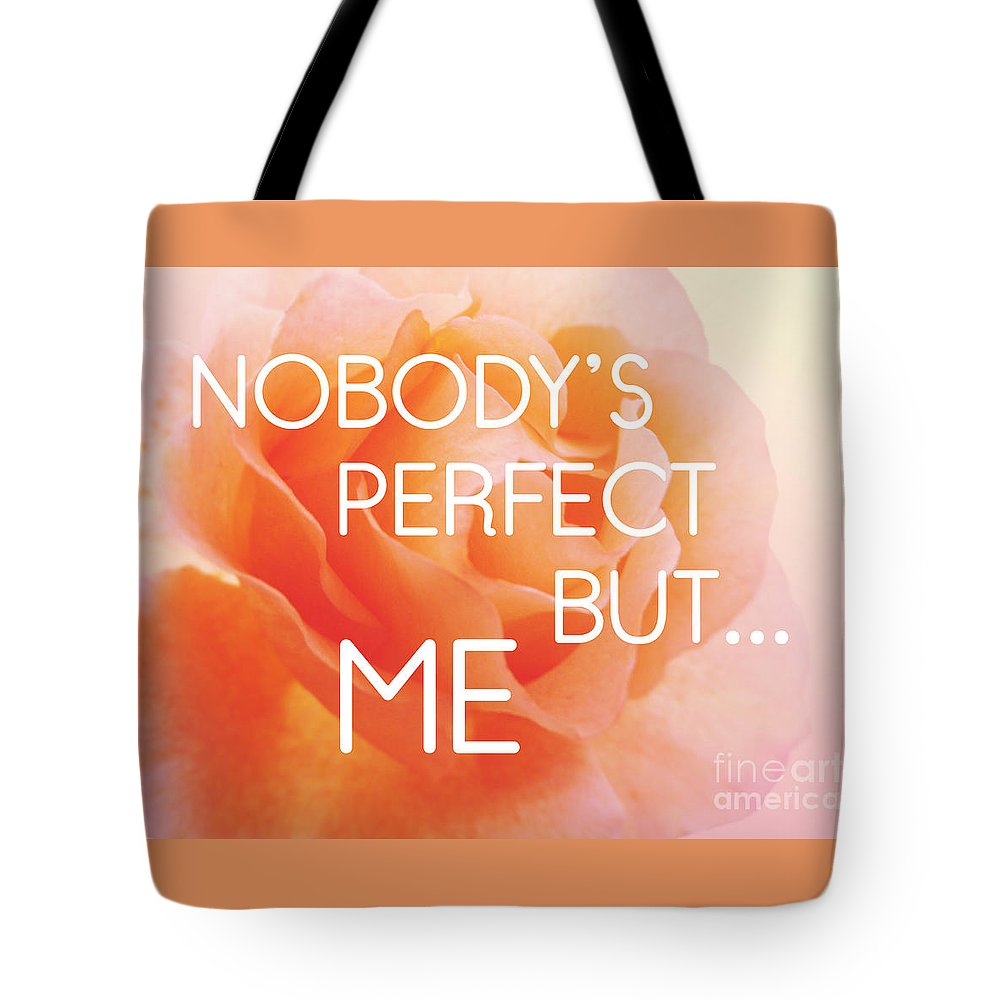 Self-love Tote Bag featuring the photograph Self-love - Rose Flower by Julia Gogol