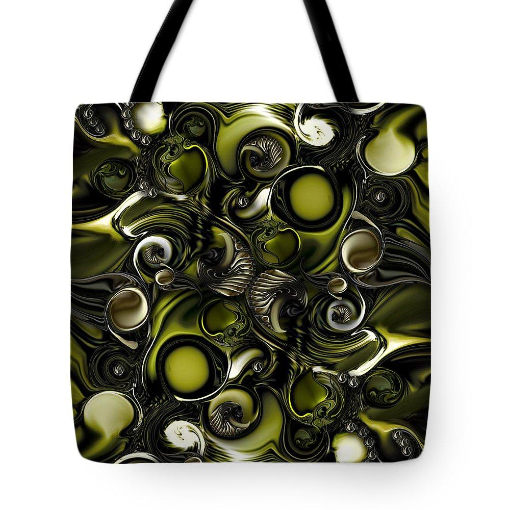 Season Tote Bag featuring the digital art Self Or Season by Carmen Fine Art