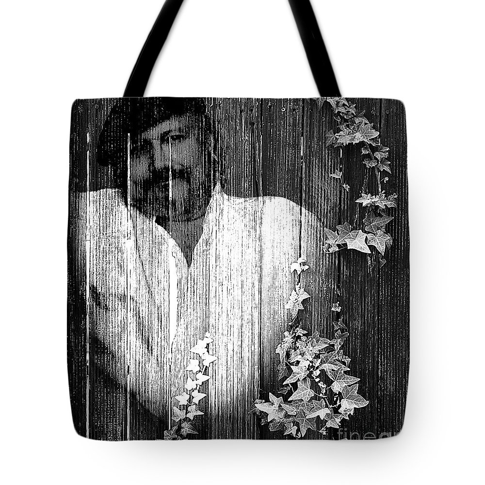 Clay Tote Bag featuring the photograph Self Portrait by Clayton Bruster