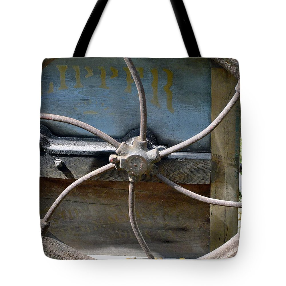 Agriculture Tote Bag featuring the digital art Sending To The War by RC DeWinter