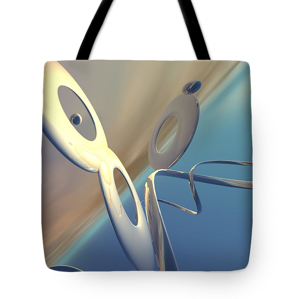 Scott Piers Tote Bag featuring the painting Sense Of Well-being by Scott Piers