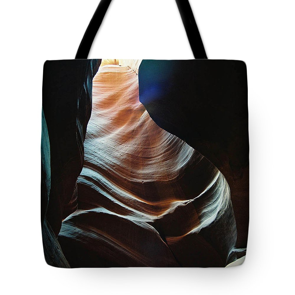 Landscape Tote Bag featuring the photograph Sensual Curves by Cathy Franklin