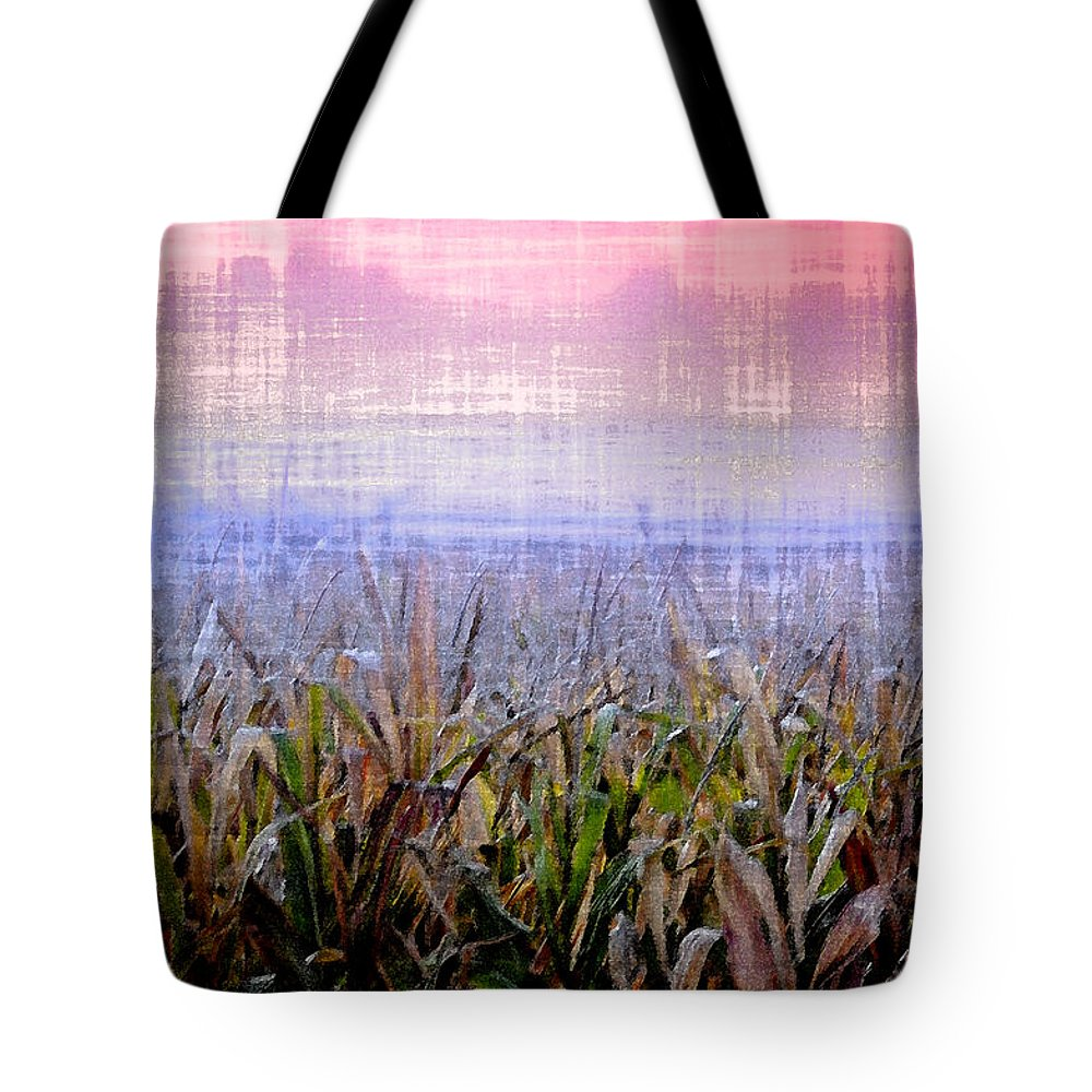 September Tote Bag featuring the photograph September Cornfield by Bill Cannon