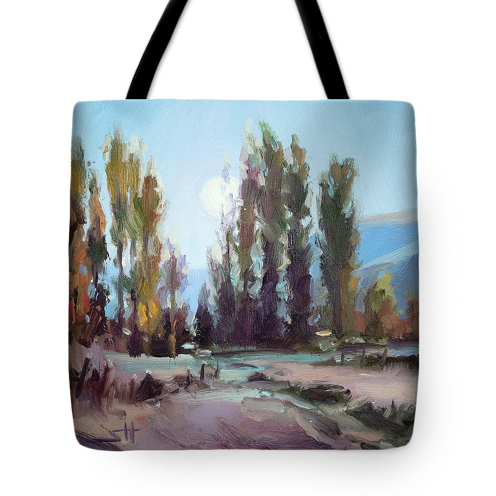a8c3d314515bd September Moon Tote Bag for Sale by Steve Henderson