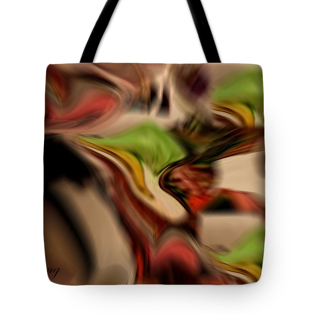 Digital Art Tote Bag featuring the digital art September Song by Jacquie King
