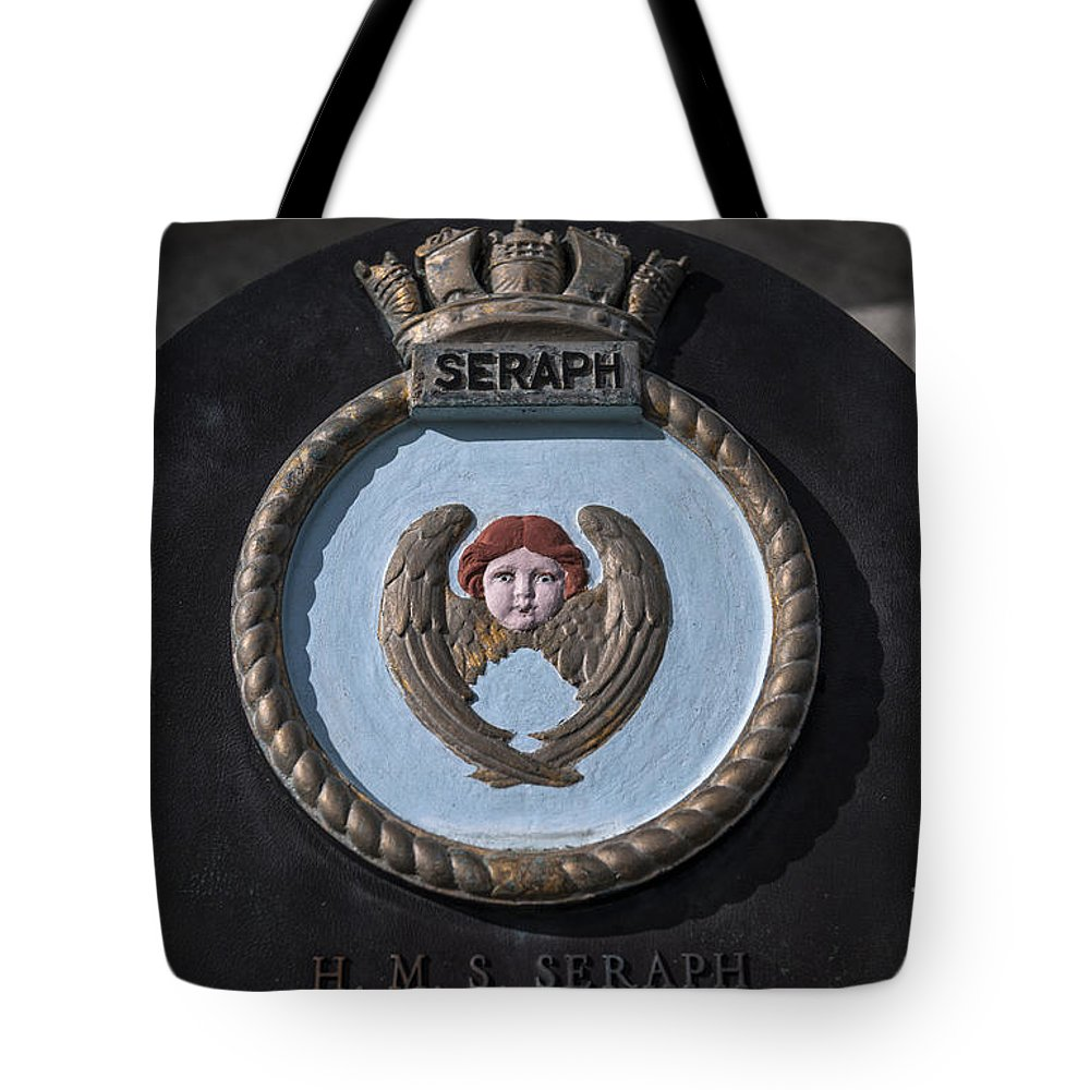 Hms Seraph Tote Bag featuring the photograph Seraph by Dale Powell